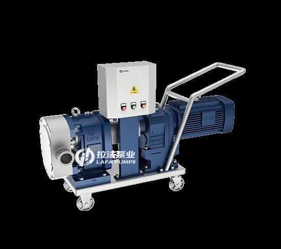 移动型双转子泵