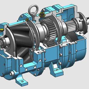 凸轮转子泵的干运行能力
